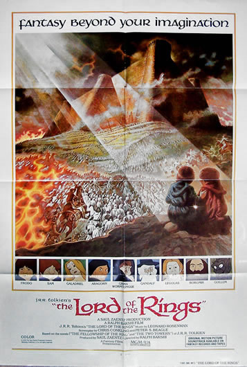 lord of the rings US 1 sheet_2