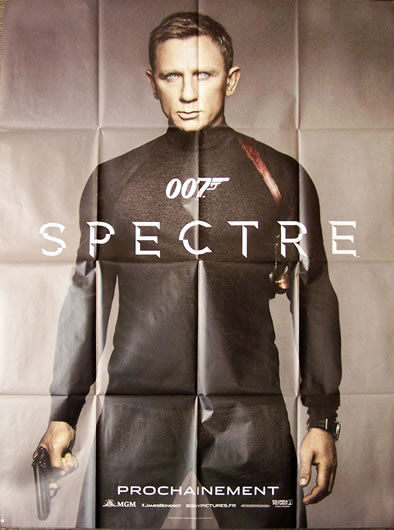 l'afficche du film James Bond Spectre