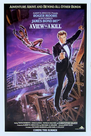 a view to a kill advance US 1 sheet_2