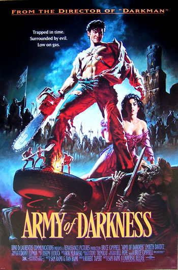 army of darkness US 1 sheet_2