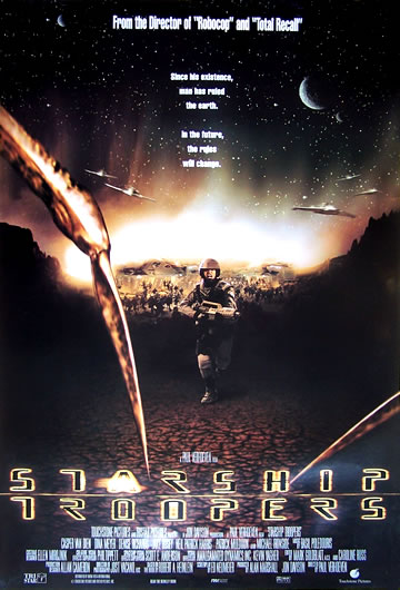 starship troopers US 1 sheet_2