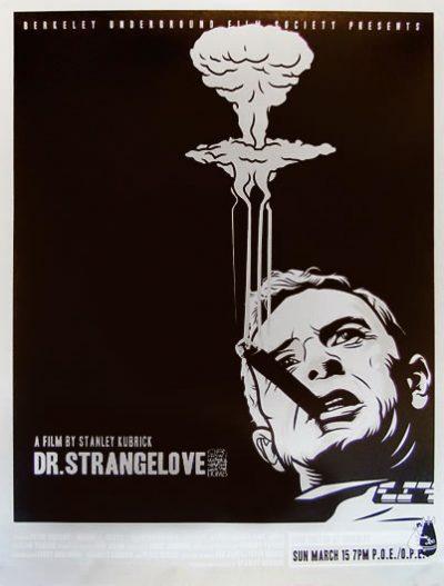 dr strangelove cigare serigraphie US_2