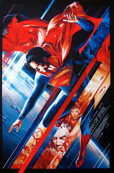man of steel serigraphieok
