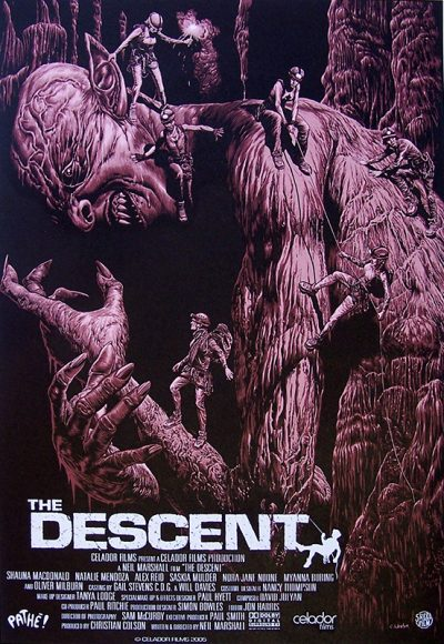 the descent serigraphieok