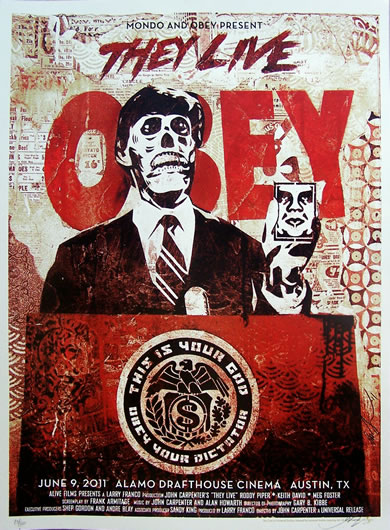 they live obey serigraphie US_2
