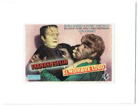 Frankenstein et le loup garou programe espagnolok