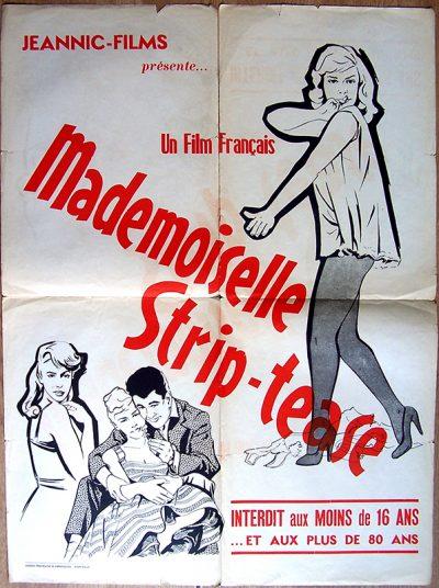 mademoiselle strip tease 60x80ok