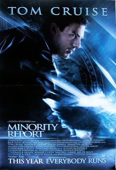 minority report US 1 sheetok