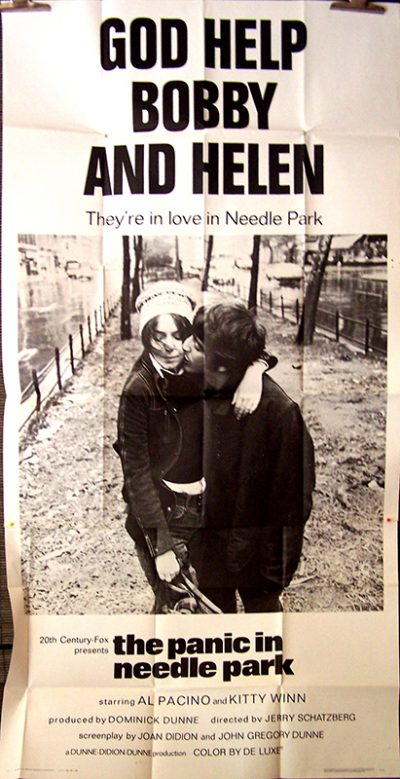 the panic in needle park us 3sheetok