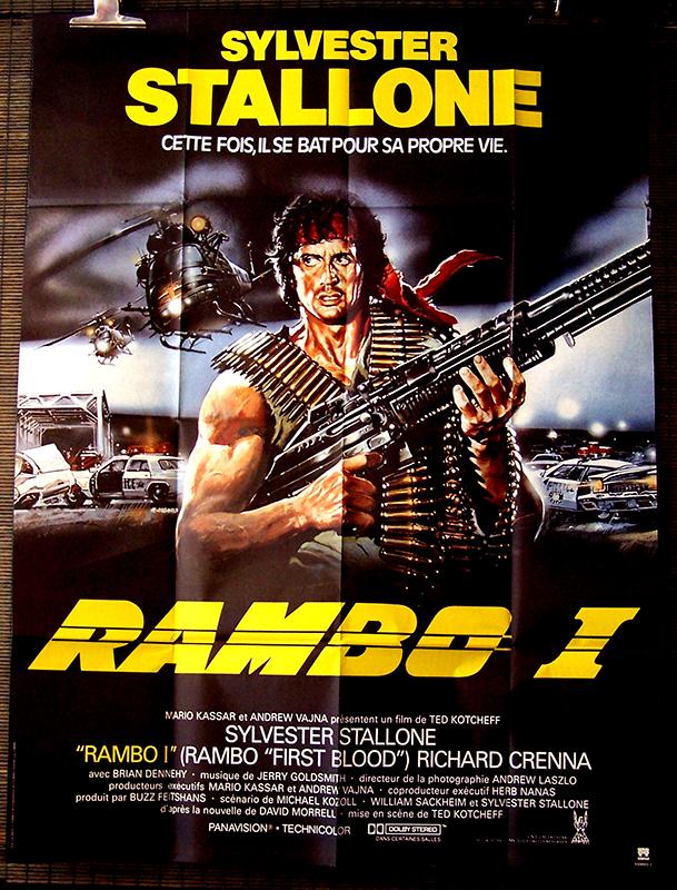 Rambo 1 Elicottero : Rambo ciné images